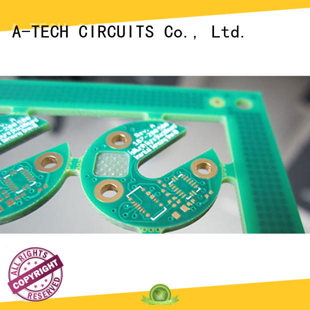 A-TECH blind impedance pcb thick copper top supplier