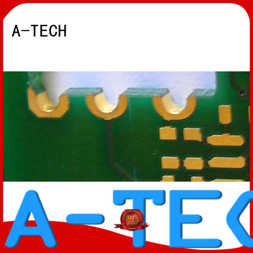 A-TECH routing via in pad technology plated top supplier