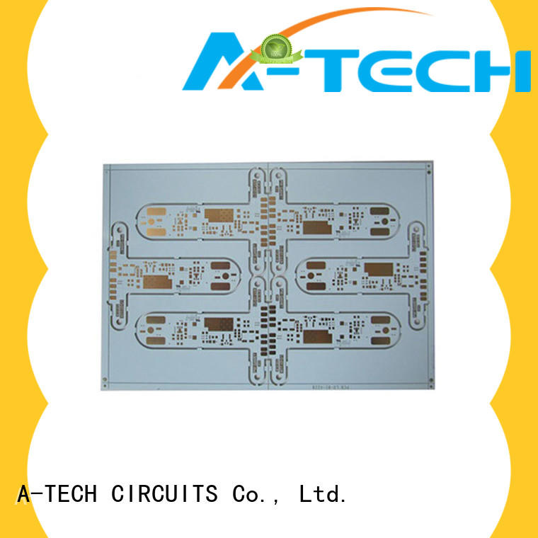 A-TECH microwave aluminum pcb double sided