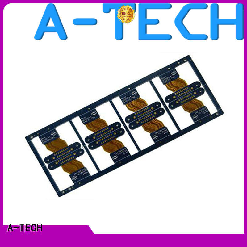 A-TECH metal core flexible printed circuit board single sided for wholesale