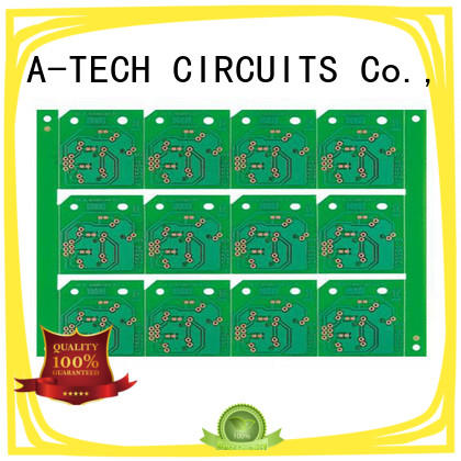 flexible double-sided PCB custom made at discount A-TECH