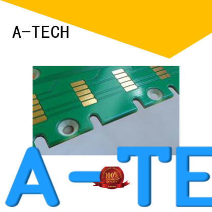 A-TECH free delivery edge plating pcb durable for wholesale