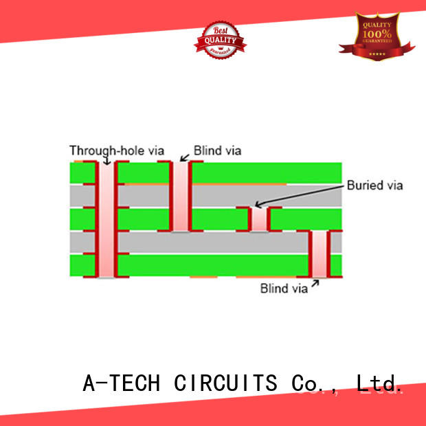 A-TECH edge plating pcb hot-sale at discount
