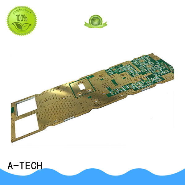 A-TECH aluminum double-sided PCB custom made