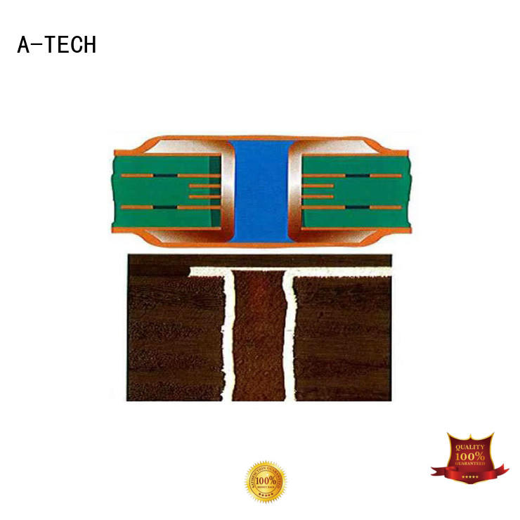 A-TECH blind via in pad technology counter sink for wholesale