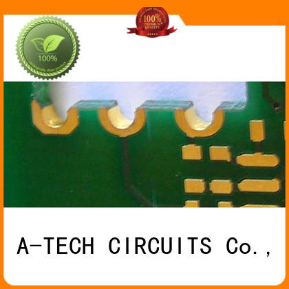 fit hole edge plating pcb best price at discount A-TECH