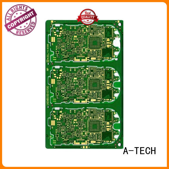 A-TECH quick turn double-sided PCB multi-layer for led