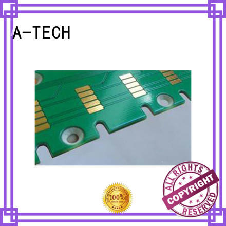 A-TECH press edge plating pcb hot-sale for sale