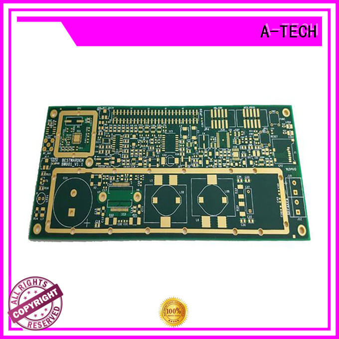 A-TECH prototype aluminum pcb double sided