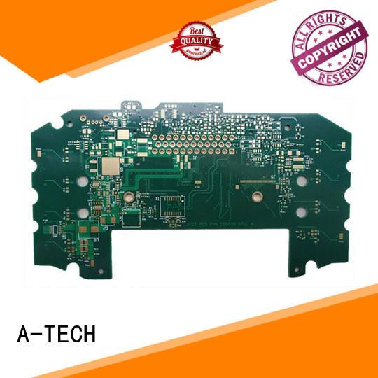 A-TECH single sided aluminum pcb for led