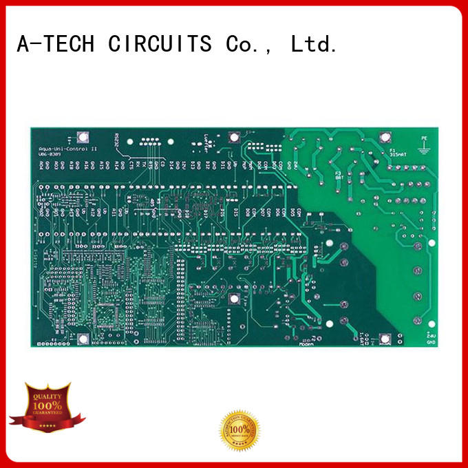 A-TECH metal core rigid flex pcb multi-layer