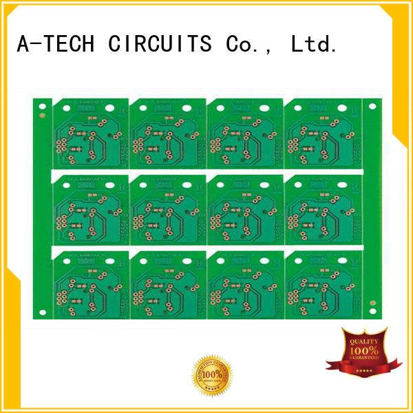 A-TECH aluminum rigid flex pcb multi-layer for led