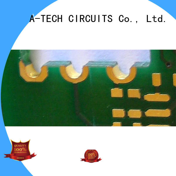 A-TECH buried edge plating pcb best price for wholesale