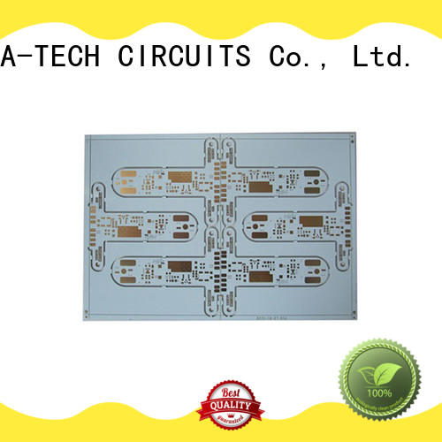 A-TECH single sided aluminum pcb double sided