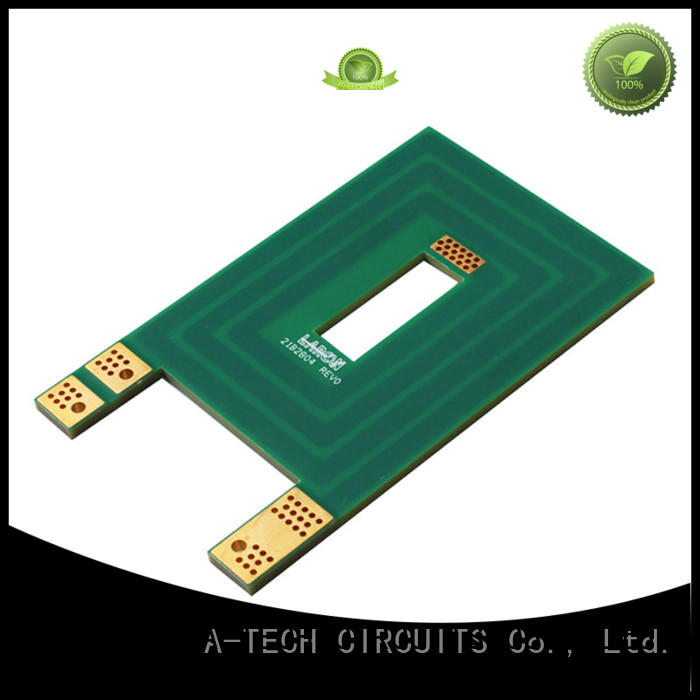 A-TECH counter sink edge plating pcb durable for sale