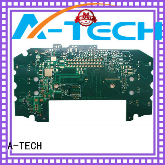 A-TECH aluminum multilayer pcb manufacturing double sided for led