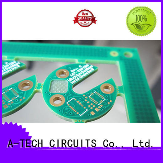 micro vias pcb top supplier A-TECH