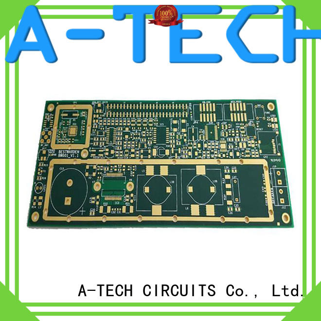 A-TECH quick turn flexible pcb double sided for led