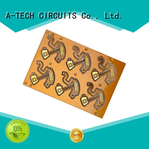 A-TECH quick turn pcb prototype custom made for led