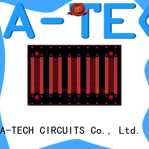 A-TECH routing pcb edge plating process best price top supplier