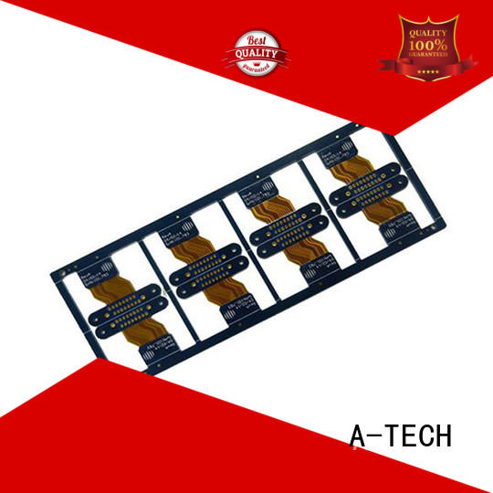 A-TECH aluminum pcb double sided for wholesale