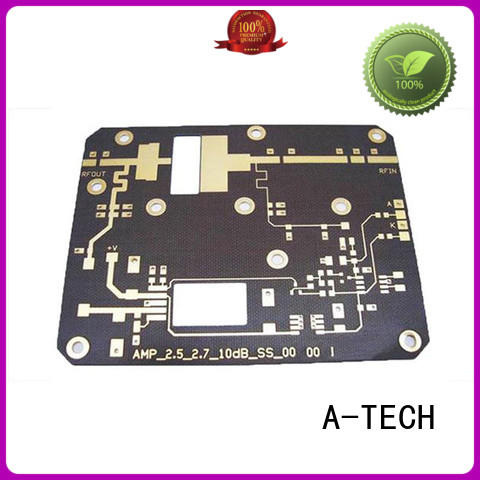 A-TECH single sided flex rigid pcb double sided for led