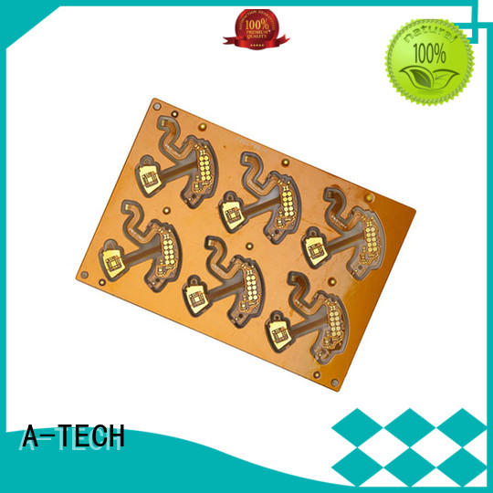 A-TECH microwave double-sided PCB top selling for led