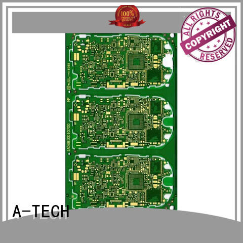 microwave rf pcb single sided for wholesale A-TECH
