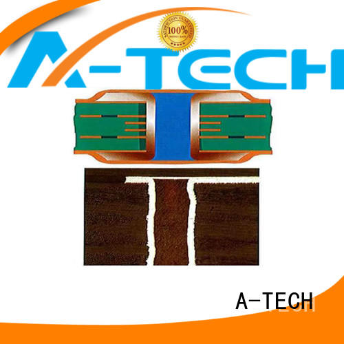 A-TECH half depth via in pad pcb best price for sale