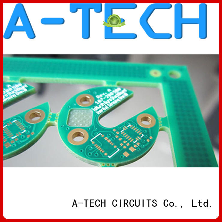A-TECH fit hole impedance control pcb best price for wholesale
