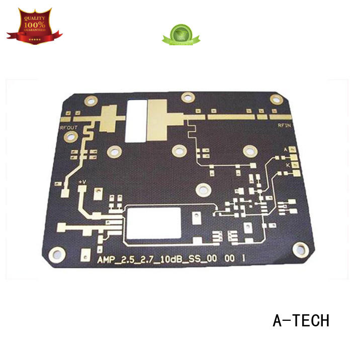 A-TECH flex quick turn pcb prototype custom made for led