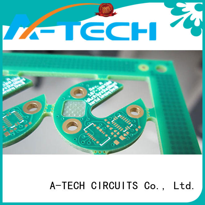 A-TECH fit hole edge plating pcb best price for sale