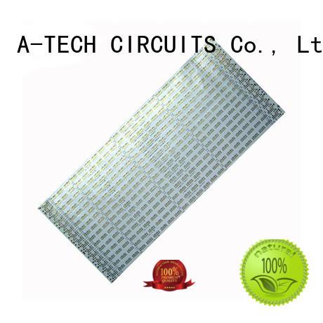 single sided aluminum pcb for led A-TECH