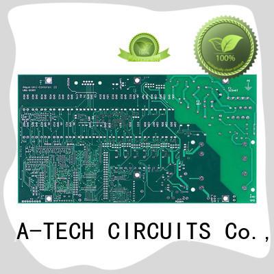 A-TECH rigid aluminum pcb custom made for led