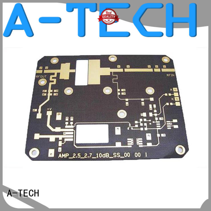 A-TECH rigid microwave rf pcb multi-layer for wholesale