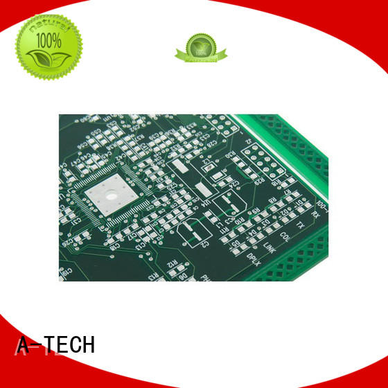 A-TECH gold plated immersion gold pcb bulk production at discount