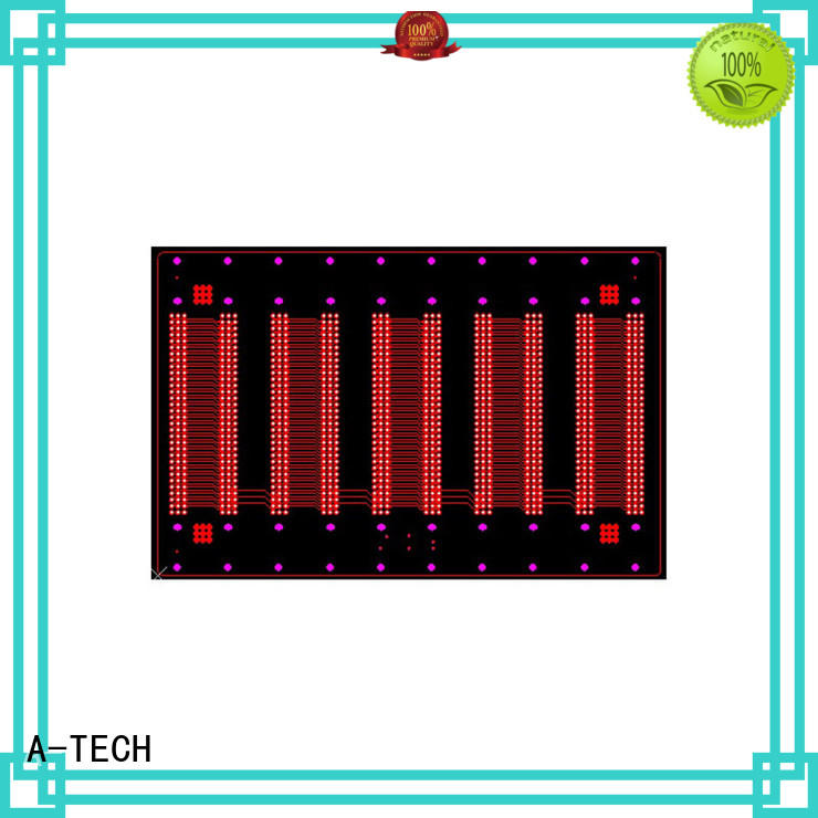 A-TECH routing castellated holes pcb durable for sale