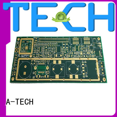 flexible flex rigid pcb rigid for led A-TECH