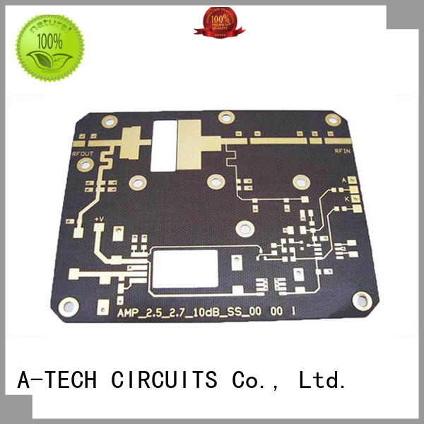 rogers quick turn pcb prototype rigid double sided for wholesale