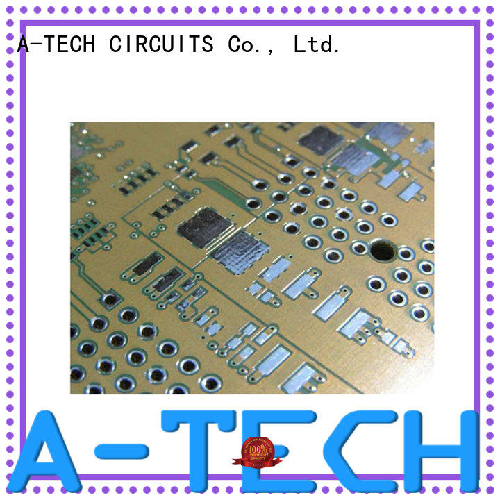 A-TECH highly-rated immersion silver pcb cheapest factory price for wholesale
