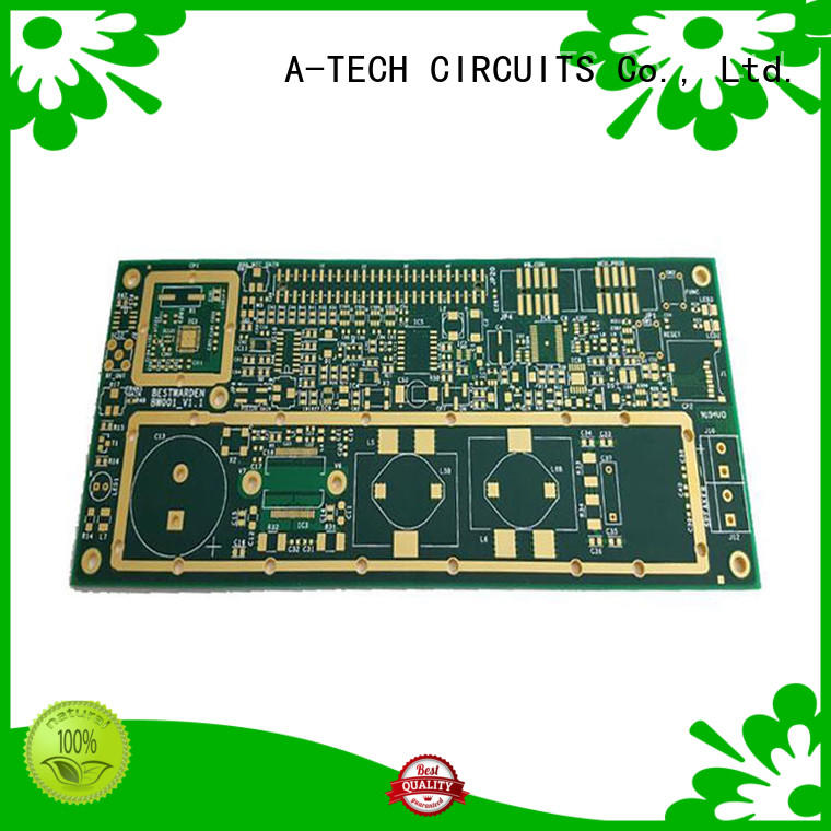 A-TECH aluminum led pcb double sided for wholesale