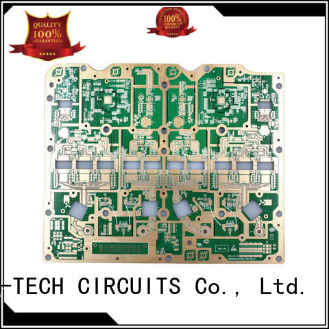 A-TECH routing pcb edge plating process best price for wholesale