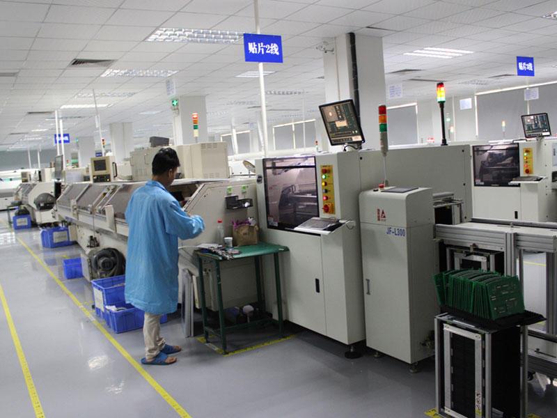 RF PCB Assembly-Line