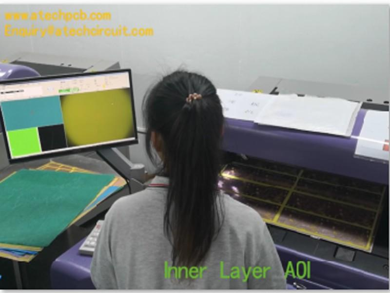 AOI for inner layer image - multilayer PCB manufacturing