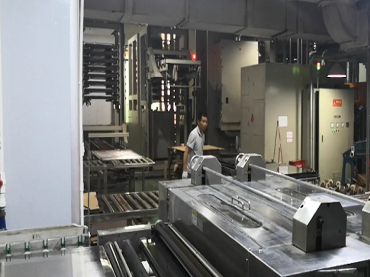 Lamination process of multilayer PCB