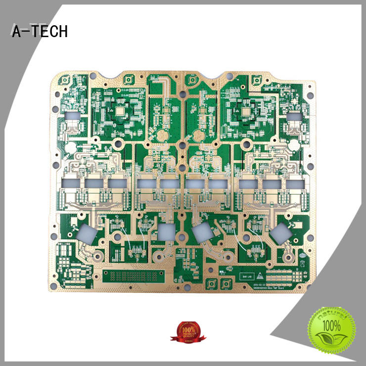 A-TECH edge thick copper pcb best price for sale