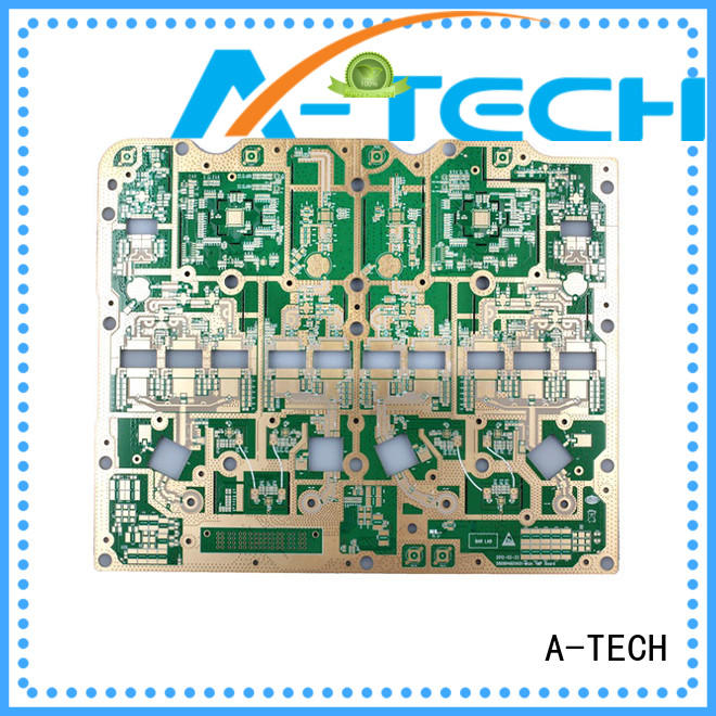 A-TECH blind castellated holes pcb control at discount