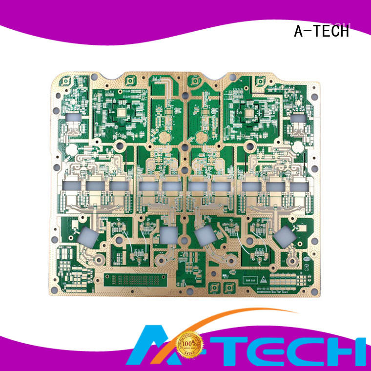 A-TECH fit hole edge plating pcb best price at discount