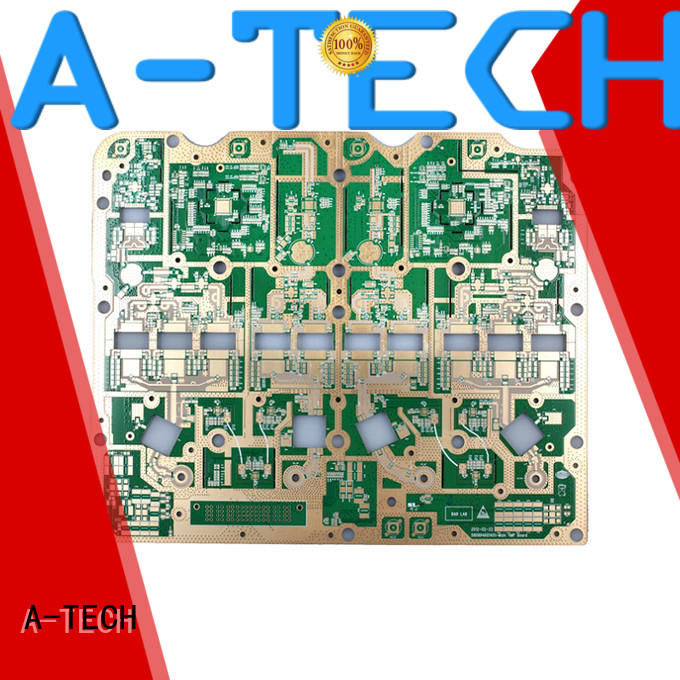 A-TECH routing edge plating pcb hot-sale at discount