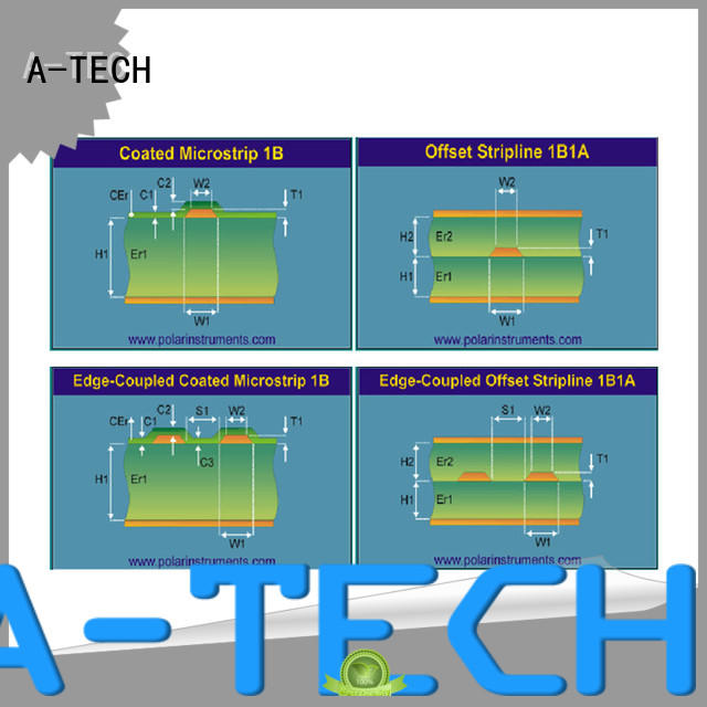 A-TECH free delivery via in pad pcb durable at discount